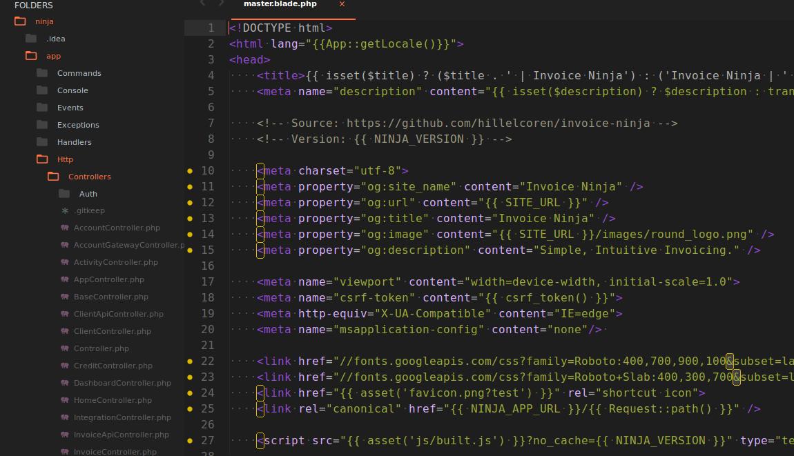 Invoice Ninja Code - Open Source