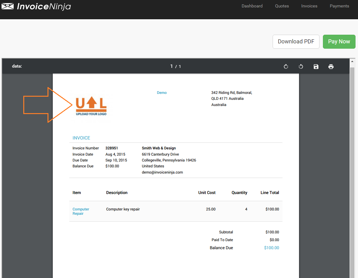 Powerful Suite Of Features Invoice Ninja - Invoice ninja review