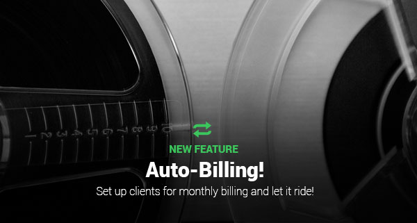 Auto-Billing Recurring Invoices