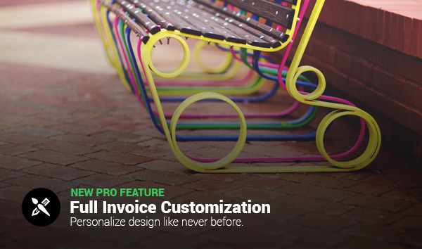Customize Your Invoice Design