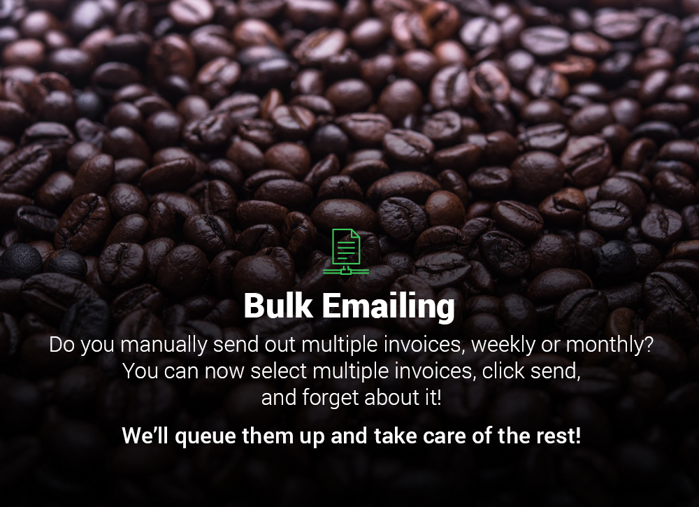 Bulk Emailing Invoices & Quotations