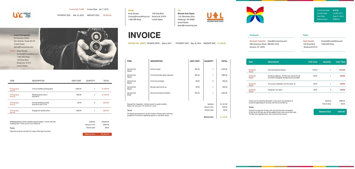 The Design Of Your Invoice Is Every Bit As Important As The Rest Of Your  Business Branding. For Freelancers And Solo Entrepreneurs, Developing Brand  ...  Web Invoice